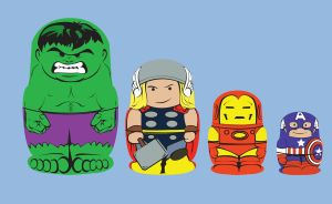 Avengers Shirt -- Li'l Vengers by Truxillogical