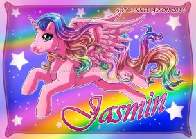 Pony for Jasmin by AnnieMsson