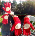 Ironman Gloves by Giselle-M