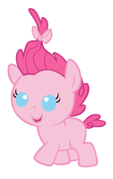 Baby Pinkie Pie by MarianHawke