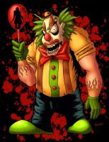 FEAR FILM CLOWN by PHARAOHSCURSE