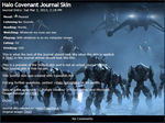 Halo Covenant Journal Skin by RottenRibcage
