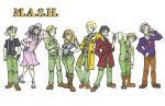 M.A.S.H. Character Designs by CuriousInsanity