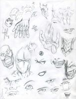 Sketches by lazer22