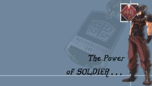 The Power of SOLDIER by LordKnightXiron