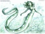 Eel-Mermaid by andrea-koupal