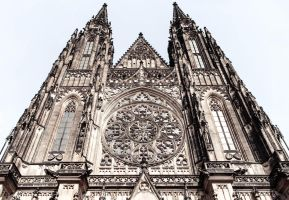 St. Vitus Cathedral at Prague Castle by D6rky