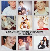 Icons: One Direction set2 by Mariesen