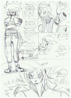 brouillon du manga page 4 by SharkVamps