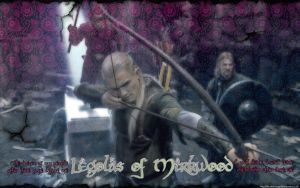 Legolas in Moria by ulstudor