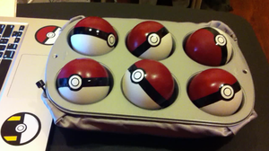 Light-up Pokeballs with sound!
