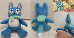 Happy of Fairy Tail Plush by Whyte-Raven