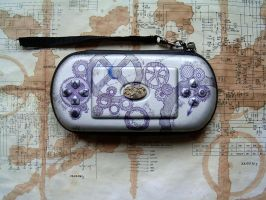 Custom Clockwork PSP Case by aequinox