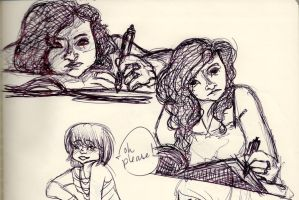 From my sketchbook by EmmilliaBedillia