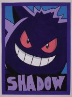 Gengar Grin by IceRoadLion