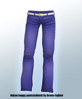 MMD nakao baggy pants+DL by Green-Fighter