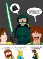 Doing Darth Vader breathing by SailorEnergy