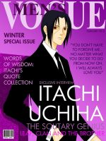 Fashion Magazine Cover: Itachi Version by romizoh373