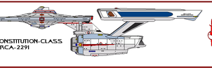 Terran Constitution-class by Itsomi