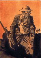 Cult Stuff WWI sketchcard 2 by RobertHack