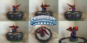 Custom Skylanders Toy:: Tech Mystery by Neffertity