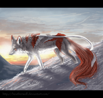 Sunrise in the mountains by HeatherWolf
