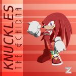 Knuckles the Echidna by Zat3am