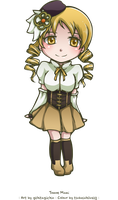 Collab: Tomoe Mami by tsubasahiluxisz