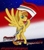 Stand With Indonesia [Will Paint] by SkyCraftDie