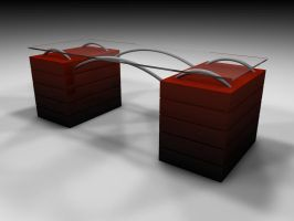Desk 1 Red by Dead-Ant