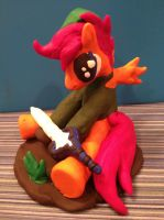 Scootaloo Link Sculpture by Snowblitz227
