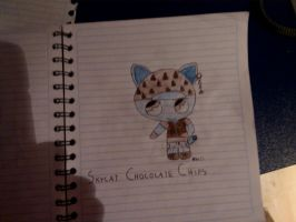 Skycat Chocolate Chips by florecilla10