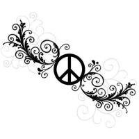 Peace Tattoo by Marjolijn-Ashara