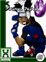 New- Young Ninja Title Page by Leeon09