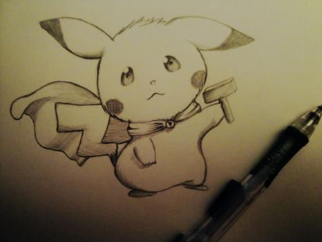 Pikachu to the Rescue by CharlieCelis