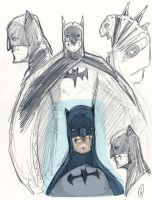 Batman and sketches 1 by Axel13-Gallery