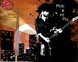 I luv music by Anubhav-theartkid