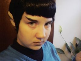 Cosplay Me as Spock by Arei-chan