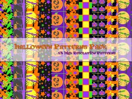 Halloween Patterns Pack by powerpuffjazz