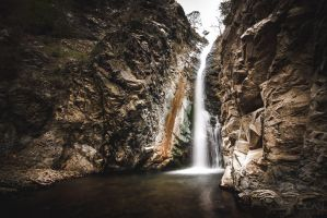 Millomeris waterfall by sican
