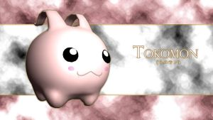 Tokomon-3d by me by EAA123