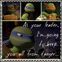 TMNT:: Leo: As your leader by Culinary-Alchemist