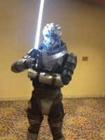 Jedi Garrus by UnleashedHearts