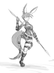 Quick Aurin Sketch by NinjaPony