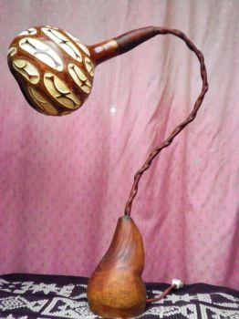 gourd lamp 3 by antizafronitista