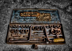 Very Old Socket Wrench by thomasvillhauer