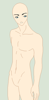 Traced Base - Casual Male Pose by Shadow-Bases