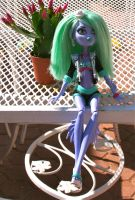 Monster High Custom Sea Monster Sirena by mermaid-splash