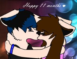 Happy 11 months...thing by Jayfeather4life