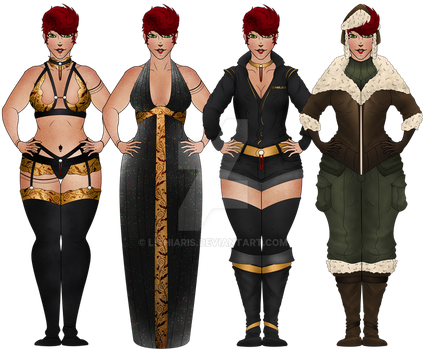 Harper - Outfits by Lithiaris